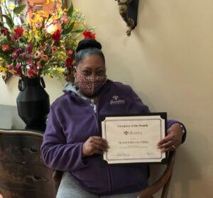 Caregiver Bernardsville NJ - Caregiver of the Month for May